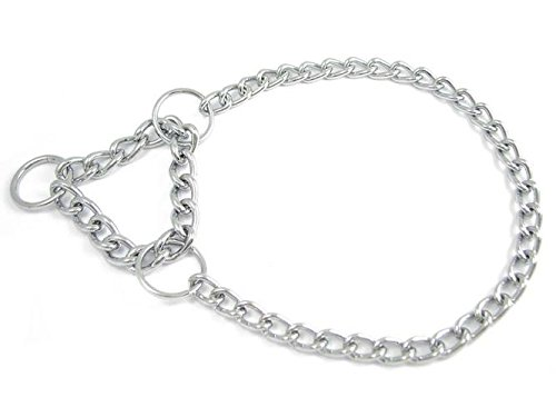 Einreihige Halskette mit Zugstopp für Hunde - Dressurhalsband - Allen Längen und Stärken