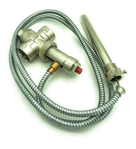 Válvula de descarga térmica STS 20 para caldera de combustible sólido