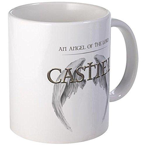 CafePress-Supernatural Castiel Engel Flügel Tasse-Einzigartige Kaffee Tasse, Kaffeetasse, Teetasse, 325ml, keramik, weiß, S