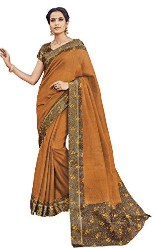 EthnicJunction Munga Checks Kota Designer Silk Sarees with Unstitched Blouse Piece (EJ1185-2550,...
