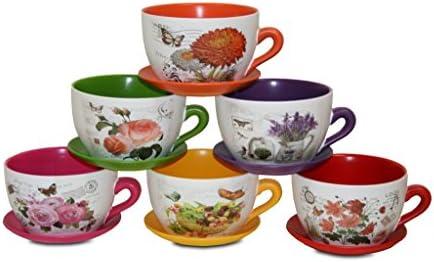 bUAR artesanos Jeu de Mugs assortis Set/6  (18  Set/6 18  11 cm) 36db96