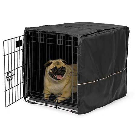 Quiet Time Box Bezug schwarz Polyester 24,5x 17,5x 19von Midwest von Midwest Wohnungen für Haustiere (Sand Live Reef)