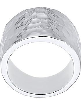 Quinn Damen-Ring 925er Silber 58, silber