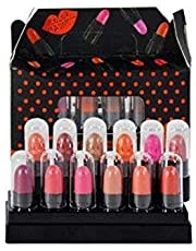 matt look Look Super Matte Mini Lipstick - Set 12