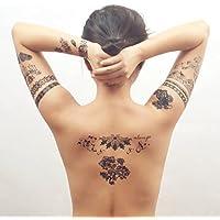 COKOHAPPY Nero Pizzo Temporanei Temporaneo Tatuaggi Tattoo