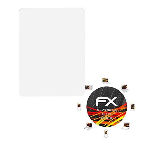 atFoliX Folie für Sony DSC-W150 Displayschutzfolie - 3 x FX-Antireflex-HD hochauflösende entspiegelnde - Dsc-w150 Sony