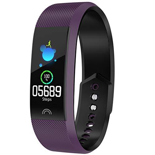 Smart Uhren Armband/F6 Multifunktions-Mode Fitness Timing Schritt Herzfrequenz Blutsauerstoff-Tracker Kalorienverbrauch Datenüberwachung Smart Bracelet/Für Android iOS-Geräte und Software