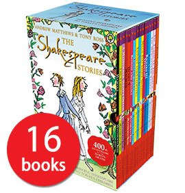 Shakespeare Stories X 16 Paperback – Box set, 1 Sep 2010 by Matthews Andrew