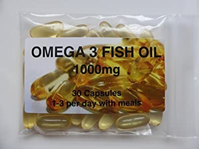 The Vitamin Omega 3 Fish Oil 1000mg (30 Capsules - Bagged) from The Vitamin