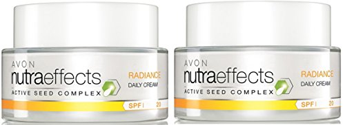 AVON NutraEffects Tagescreme RADIANCE --- 2x 50 ml