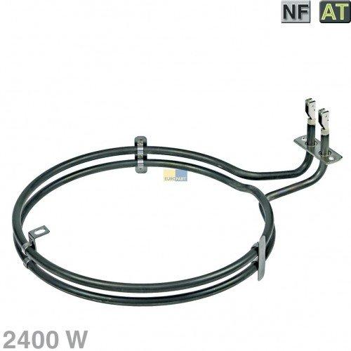 EGO 2029477000 20.29447.000 Backofen Heißluft-Heizelement, Umluftheizung 2400 W Bosch, Siemens, Neff Nr.: 499003