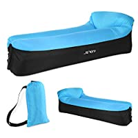 JSVER Inflatable Lounger Air Sofa with Portable Package for Travelling, Camping, Hiking, Pool and Beach Parties