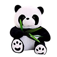LAANCOO Panda Plush Toy Cute Plush Animals for Children Stuffed Soothing Toys Sleep Cuddly Soft Toy