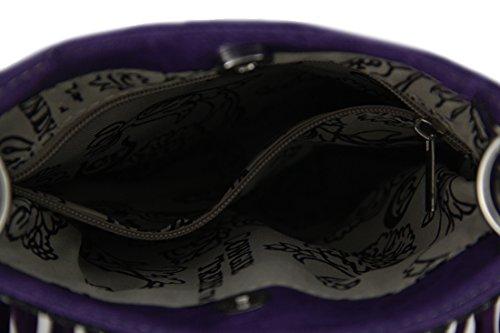 Zeckos - Borsa a tracolla donna Purple
