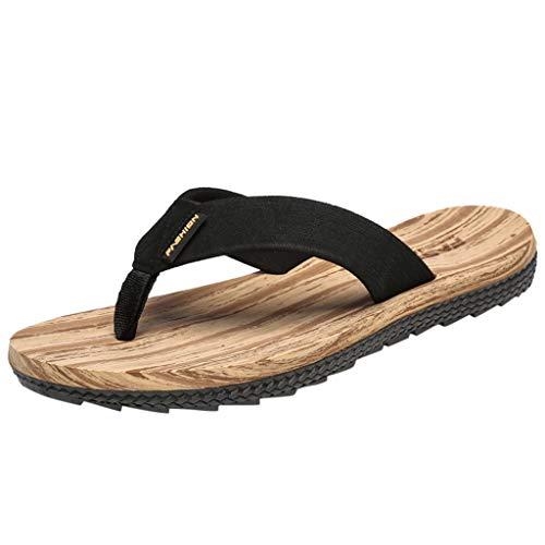 EU36-EU49 ODRD Schuhe Herrenmode Herren Sommer Reine Farbe Flip Flops Schuhe Sandalen Herren Slipper Flip-Flops Freizeitschuhe Stiefel Wanderstiefel Combat Hallenschuhe Shoes Laufschuhe Sports (Stiefel Halloween-kostüme Braun)