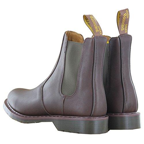Dr.Martens Victor Dark Brown Mens Boots Dark Brown