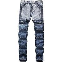 Geili Jeanshose Herren Lang Faltenwurf Wasserwäsche Jeans Hose Stretch Denim Hosen Männer Große Größen Slim Fit... preisvergleich bei billige-tabletten.eu