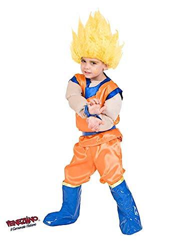Costume di carnevale da dragon baby vestito per bambino ragazzo 1-6 anni travestimento veneziano halloween cosplay festa party 1132 taglia 4