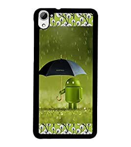PrintDhaba Android D-2512 Back Case Cover for HTC DESIRE 826 (Multi-Coloured)