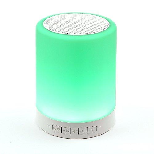 DURAGADGET Bluetooth leuchtende Lautsprecher für Aldi Medion Akoya E1240T / E1239T / P3403 Tablet-PCs