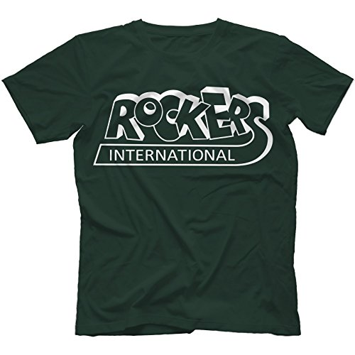 Rockers International T-Shirt in 13 Farben Waldgrün