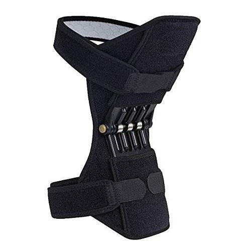 Kniebandagen, verstellbare Knieschutz, Unterstützung für Powerlift Federkraft Booster für Bergsteigen, Fitnessstudio, Sport, Verletzungen, Rehabilitation und Schutz -