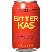 Bitter KAS - Bebida Refrescante sin Alcohol - 330 ml - [set di 6]