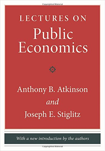 Lectures on Public Economics por Anthony B. Atkinson