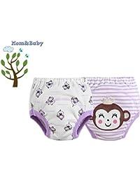 Mom & Baby Comfort Fit Trainer Pants * * 1er, 2o 4Pack de ahorro * * lavable Aprendizaje pañales para sauberwerden–de 2tamaños diferentes–Pantalones de trainers/Trainer/Entrenamiento pañales/b8383pinl (equivalente a aprox. Talla 86/92/98bzw 104/110/116)