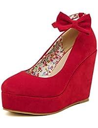 8bb763499f561 Amazon.it  scarpe da sposa - Rosso  Scarpe e borse