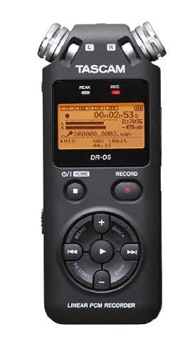Tascam DR-05 Version 2 Dictaphone Linear PCM Portable Recorder - Uscita Passa Alto