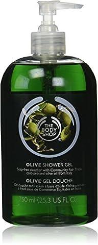 The Body Shop Olive Shower Gel/Bath & Shower Gel Olive to 750 mls