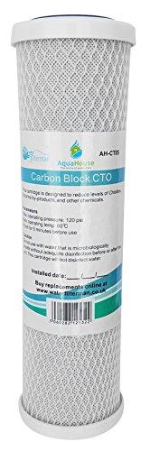 AquaHouse AH-CTO5 Cartuchos filtro agua bloque carbono