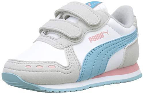 Puma Cabana Racer SL V Inf', Scarpe da Ginnastica Unisex - Bambini, Bianco White-Milky...