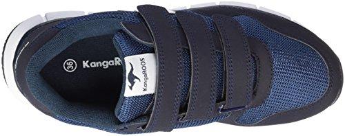 KangaROOS - K-bluerun 701 B, Pantofole Unisex – Adulto Blau (Dk Navy/White)