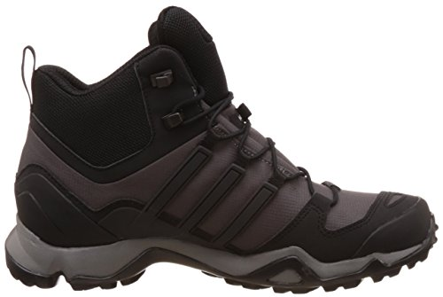 adidas Herren Terrex Swift R Mid Stiefel Grau (Granite/core Black/ck Solid Grey)