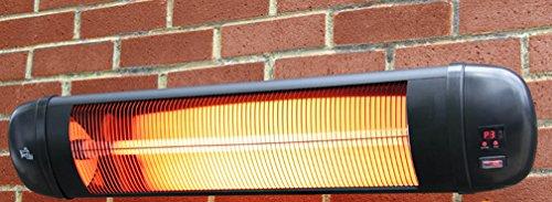 2.000 Watt Firefly™ Infrarot-Heizstrahler (Quarz), Wandmontage, 3 Leistungsstufen, inkl. Fernbedienung