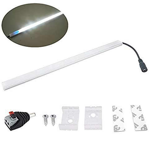 Bonlux 300MM DC 12V Dimmable LED Tube Light Strip Cool White 6000K tactile gradateur Kit Strip Light Bar rigide 6W LED Intérieur pour voiture Van Bus Caravan Motorhome