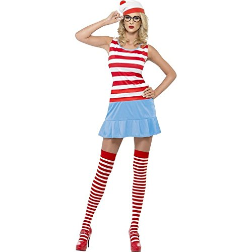Wo ist Walter Damen Kostüm Wenda Karneval Fasching (Kostüme Erwachsenen Wenda)