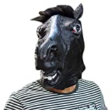 ASOSMOS Neuheit Creepy Horse Halloween Kopf Latex Gummi Kostüm Theater Prop Party Maske Angebot Silikonmaske