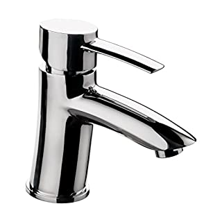 Aquasu Vinoa Single-Handle Mixer Tap for Wash Basin, 1 Piece, Chrome, 78880 9