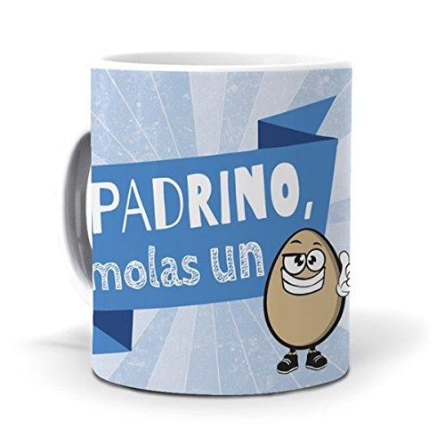 mundohuevo Taza Padrino, molas un Huevo Version