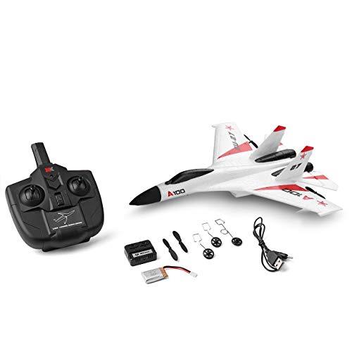Monllack Wltoys A100-SU27 3CH Mini 340mm Spannweite Wingspan EPP RC FPV Racing Drohne Flugzeug Flugzeug Spielzeug mit Hoher Geschwindigkeit