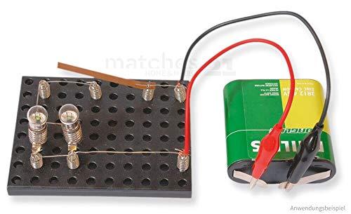matches21 Elektronik Modell Set mit Stromkreis / Serienschaltung / Parallelschaltung Kinder Lernspiel ab 10 Jahren