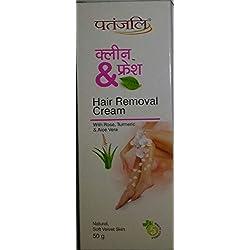Patanjali Clean & Fresh Hair Removal Cream 50gm
