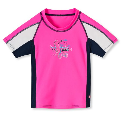 Schiesser Baby Mädchen Badeshirt pink UV50+ #140803-504