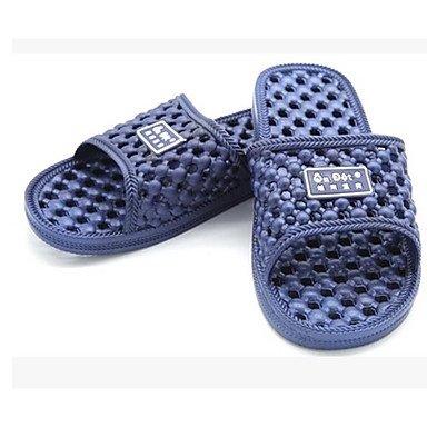 LQXZM Unisex pantofole & amp; flip-flops Comfort PU molla luce Casual Blue Rosso Blu Navy viola leggero piatto nero Navy Blue
