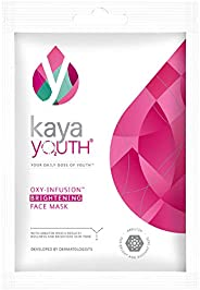 Kaya Youth Oxygen Boost Brightening Face Mask,15 min Instant Home Facial Mask,Reduce Dullness,Brighten Skin To
