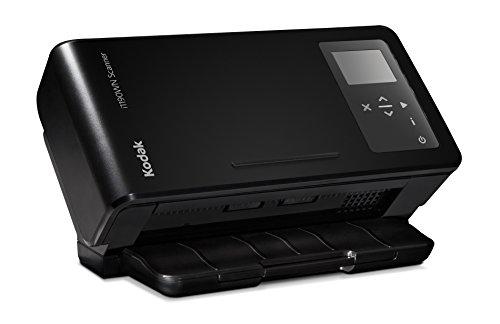 KODAK i1190WN Scanner- drahtloser Netzwerkscanner mit 40 Blatt/Minute und 75 Blatt Dokumenteneinzug für PC/Tablets/Smartphone (iOS und ANDROID), für WLAN, LAN oder USB - Smartphone Kodak