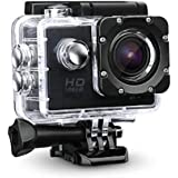 Heypex HOD-7 Sports HD Action Camera Video Camera with Waterproof Camera Case (Assorted Colour)
